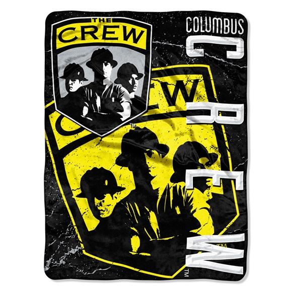 Picture of Columbus Crew MLS 46x60 Micro Raschel Throw
